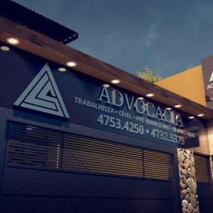 ALS Advogados – Fachada em ACM